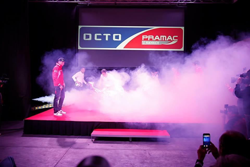 Презентация команды Octo Pramac Yakhnich Ducati (фото)
