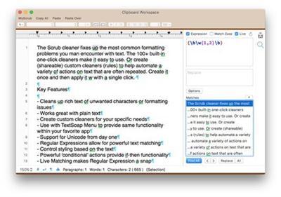 TextSoap (Mac OSX)
