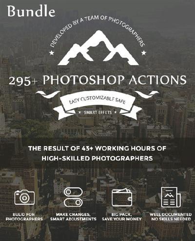 GraphicRiver - 295+ Photoshop Actions 14480648