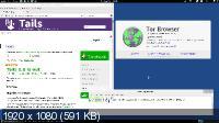 Tails 1.7 анонимный доступ в сети (i386/1xDVD/RUS/2015)