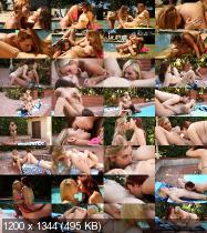 Lesbo Pool Party 5 (2015/DVDRip)