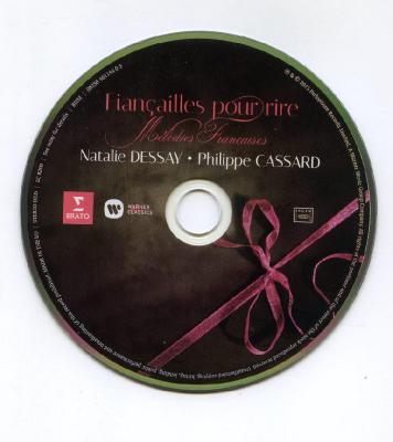 Natalie DESSAY (soprano), Philippe CASSARD (piano) – Melodies Francaises / 2015 ERATO