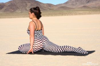 08-13 Checkered Yoga AriaGiovanni.com