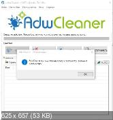 AdwCleaner 5.027 - уничтожение нежелательных панелей инструментов в браузерах