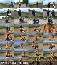 MeetSuckAndFuck/WTFPass - Sofi Goldfinger - Passionate First Date Sex On Beach (HD/840 MiB)