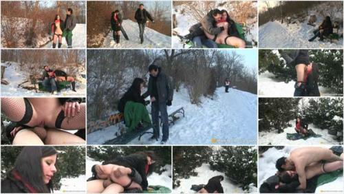 OldPerverts / Maniacpass - E021 Winter Fuck On The Snow (2012/SD)