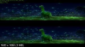 Хороший динозавр / The Good Dinosaur (2015) BDRip 1080p | 3D-Video | halfOU | Чистый звук