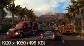 American Truck Simulator (v1.0.0.4s + 1 DLC/2016/RUS/ENG/Multi23/RePack)