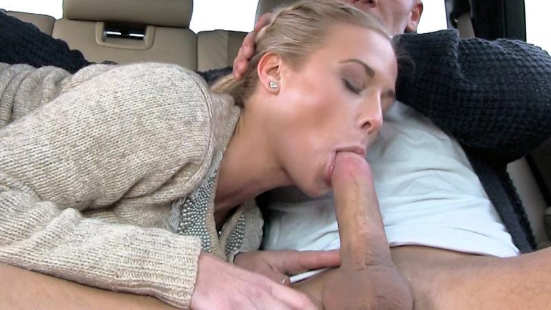 Cristal caitlin fit hitchhiker in nude stockings strande