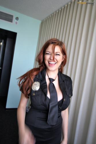 Tessa Fowler - Sexy Cop - BTS