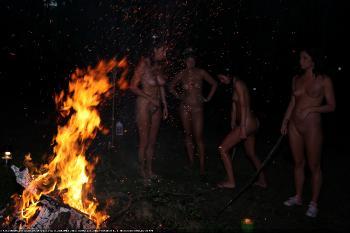 Evening Campfire Salute 4